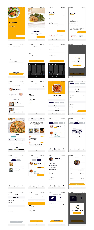 Expo - Foodies Food App UI - 1